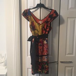 Anthropologie Moulinette Soeurs Silk Dress Size 12